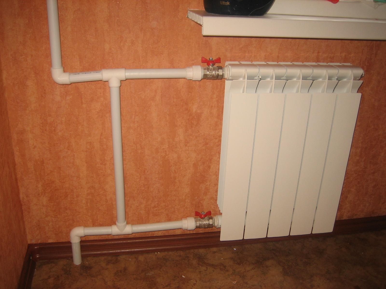 Как заменить отопление в квартире своими руками